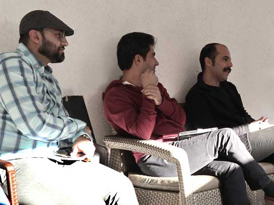 rooyeshmehr-Culture-Events-Cafe-meeting-poem-reading-Poetry-in-Rooyesh-cafe-Mostafa-Mehrayeen